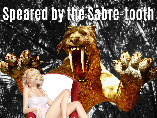 speared sabre tooth