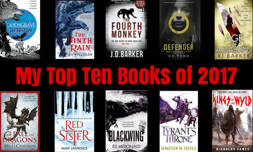 My Top Ten Books of 2017