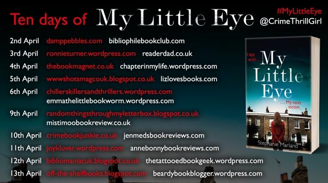 My Little Eye Blog Tour