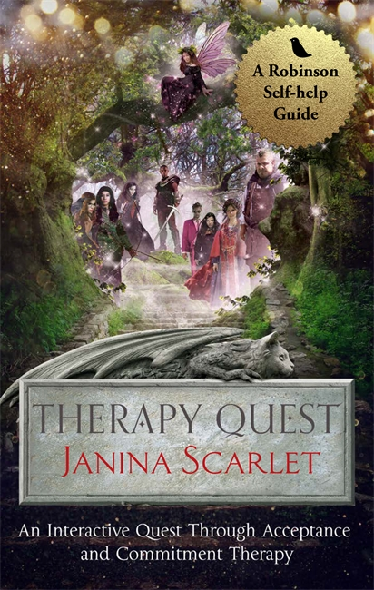 Therapy Quest by Janina Scarlet Blog Tour: Guest Post