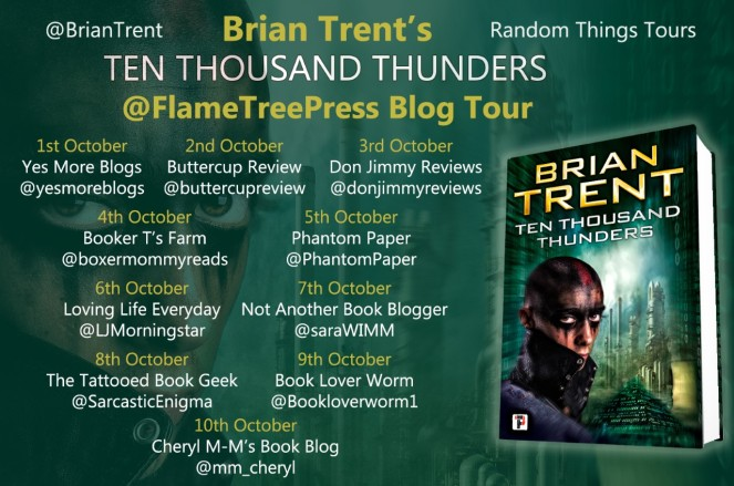 Ten Thousand Thunders Blog Tour Poster
