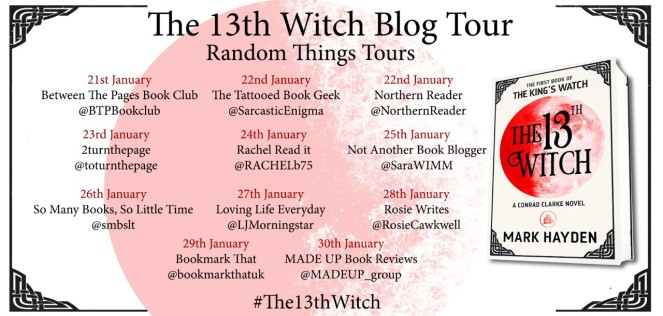 13th Witch Blog Tour Poster