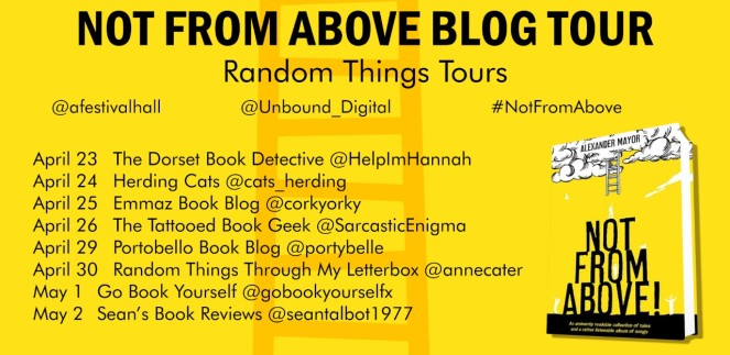 Not From Above Blog Tour poster
