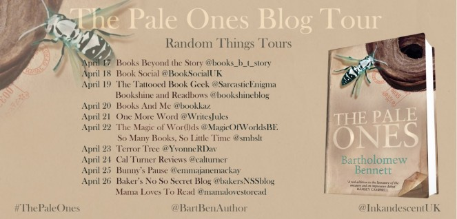 The Pale Ones Blog Tour Poster