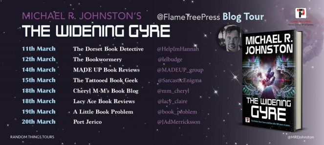 The Widening Gyre Blog Tour Poster